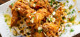 Seafood Royal Platter – Fried Catfish (2 strips) and 3 Jumbo Shrimp